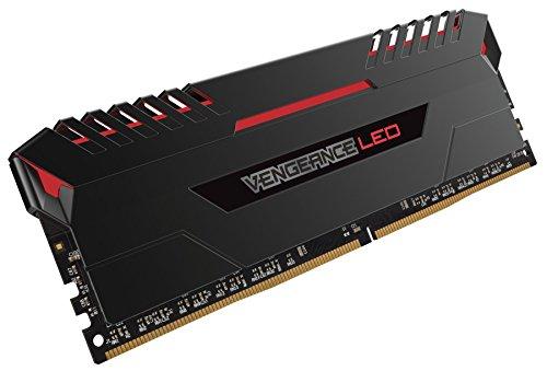Corsair Vengeance 16GB (2x8GB) DDR4 3000 (PC4-24000) C15 for DDR4 Systems, Red LED (CMU16GX4M2C3000C15R) by Corsair (Image #2)