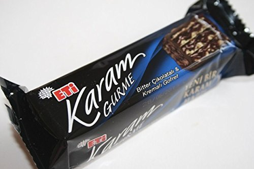 Turkish Biscuits Eti Karam Gurme Wafer 50gr. (1 Package 12 Pieces)