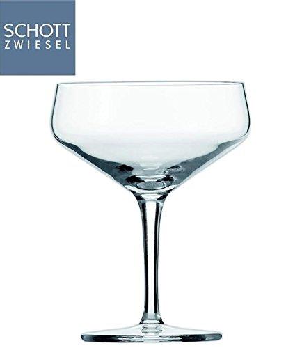 ショットツヴィーゼル カクテルソーサー グラス 259cc 30209 6脚セット B00O57FRNO