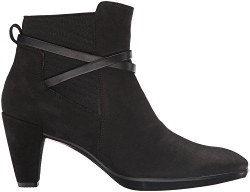 Shape Platea Negro Ecco Black para Black51052 Botines 55 Mujer adfnEqSw