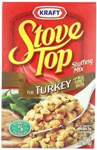 Stove Top Stuffing Mix, Turkey, 6 Ounce (Pack of 2) Turkey Mix