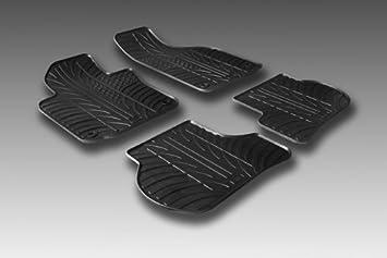 Amazon.es: Juego alfombras goma virgen a medida Citroen C5 2008-
