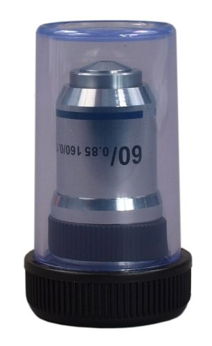OMAX 60X Achromatic Objective Lens (spring) for Compound Microscopes by OMAX