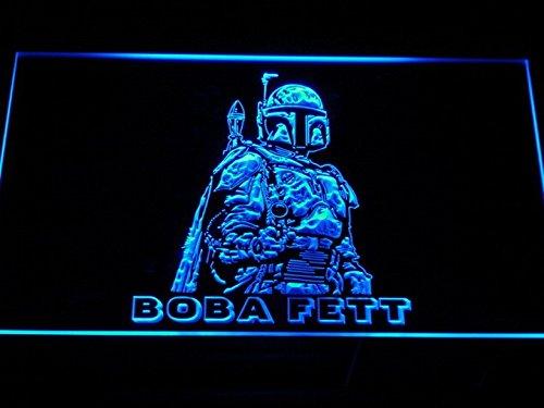 Boba Fett Star Wars Rare LEDネオンライト看板Man Cave g097-b   B00VIFRJLE
