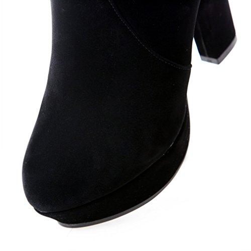 Stivali Da Donna Con Tacco Vertiginoso In Pelle Nabuk Con Tacco Vertiginoso In Pelle Con Tacco Vertiginoso