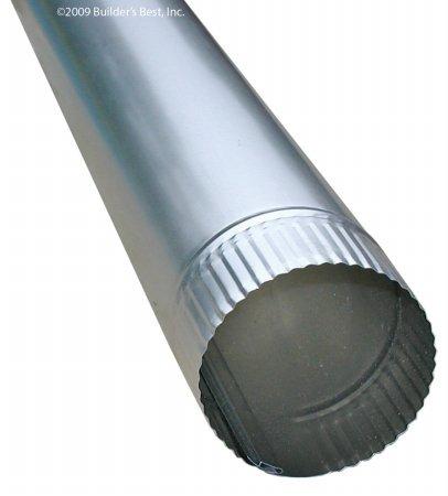 Builder's Best 849-1731-8411 110638 4'' x 24'' Rigid Aluminum Pipe