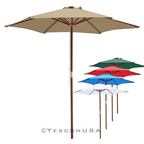 8' Outdoor Umbrella - 7