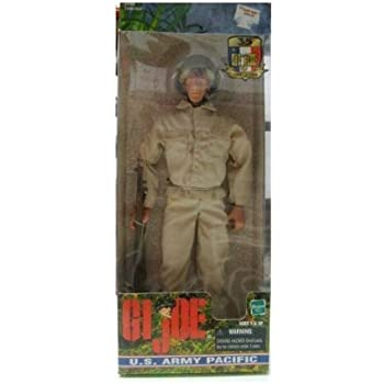 """GI Joe US Army Pacific WWII 12"""" Boxed Action figure"""