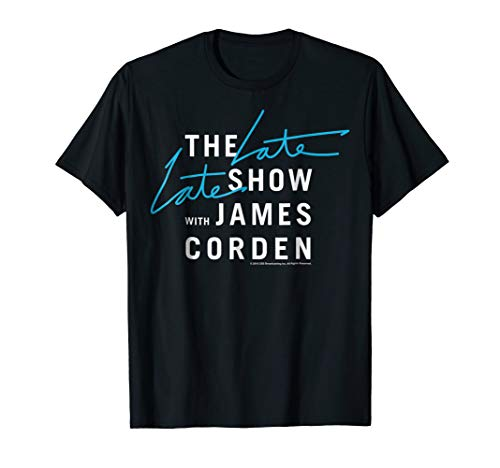 The Late Late Show with James Corden Graphic T-Shirt (The Late Late Show With Craig Ferguson Episodes)