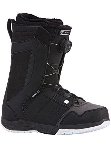 Ride Jackson Boa Coiler Snowboard Boots 2018 - 11.0/Black ()
