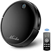 Robot Vacuum Cleaner, MOOKA I3, Powerful Suction, Self-Charging Robotic Vacuum Cleaner, HEPA Filter for Pet Fur, Performs Well on Hard Surface Floors & Thin Carpets