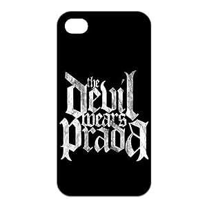 Customizable Devil Wear Prada Band iPhone 4 and iPhone 4S Hard Hard Back Case Cover Skin , i4xq-363 WANGJING JINDA