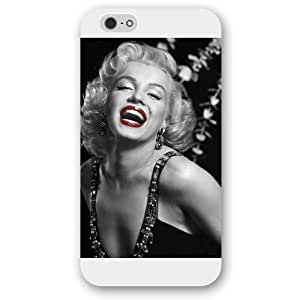 - Customized White Frosted iPhone 6 4.7 Case, Marilyn Monroe iPhone 6 case, Only fit iPhone 6(4.7 Inch)