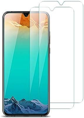 VICKSONGS Cristal Templado para Samsung Galaxy M20, [2 Unidades/9H ...