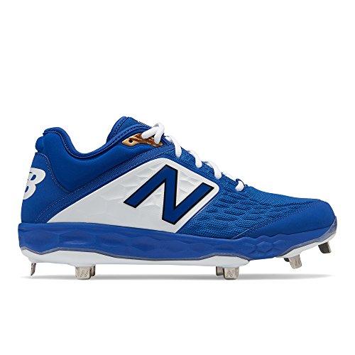 New Balance Men's 3000v4 Baseball Shoe, Royal, 11 D US