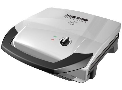 George Foreman GR0059P 120 Square Inch Healthy Cook Variable Temperature Grill image