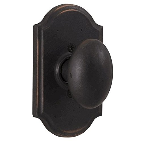 - Weslock 7105M-1 Oil Rubbed Bronze Durham Dummy Knob with Premiere Rosette