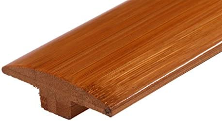 AMERIQUE Pre-Finished Solid Vertical Carbonized Bamboo Reducer 72 L x 2-1//4 W x 5//8 H