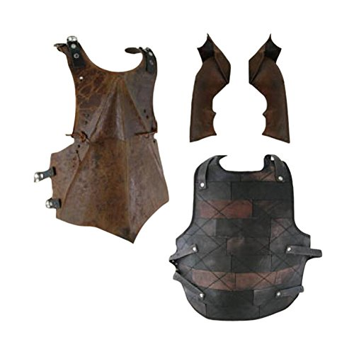 Armor Venue: Medieval Ork Body Armour Orc Rust Patina Small