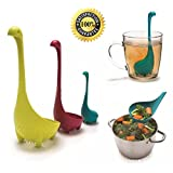 The Nessie Family Nessie The Loch Ness Monster Ladles+Tea Infuser 3 in 1