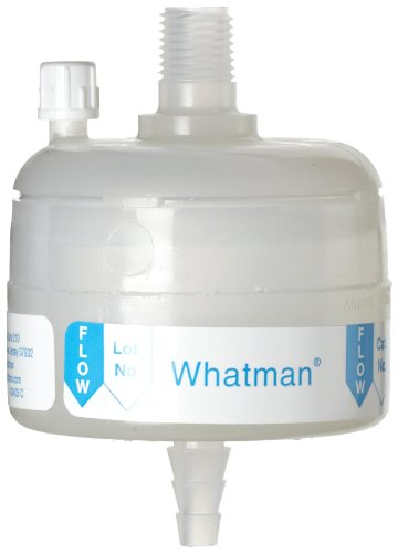 Whatman 6711-3602 Polycap TF 36 PTFE Membrane Capsule Filter with MNPT Inlet and SB Outlet, 60 psi Maximum Pressure, 0.2 Micron by Whatman