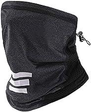 LANVO UV Protection Face Cover, Adjustable Neck Gaiter for Men and Women, Dust Mask Bandana for Outdoor Runnin