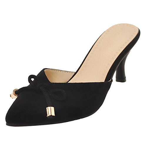 Femme JYshoes JYshoes Noir Noir JYshoes Femme Mules Mules Mules ZxdqawTZ