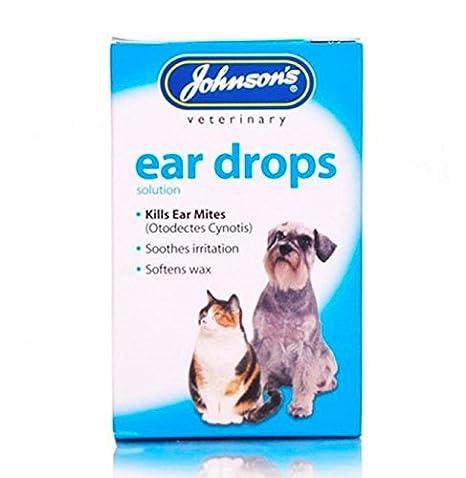 Amazon.com: Johnsons gotas para gatos y perros Mata a oreja ...