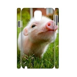 J-LV-F Diy case Little Pig customized Hard Plastic case For samsung galaxy note 3 N9000