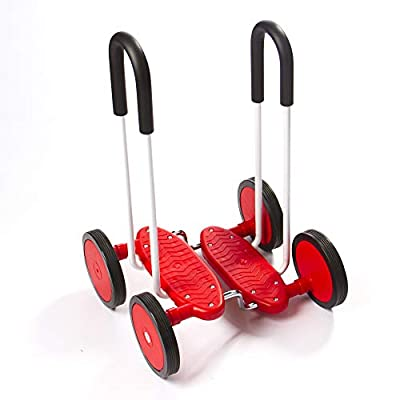 Fat Brain Toys Wheel Walker - Walking Wheels Active Play for Ages 3 to 5: Toys & Games