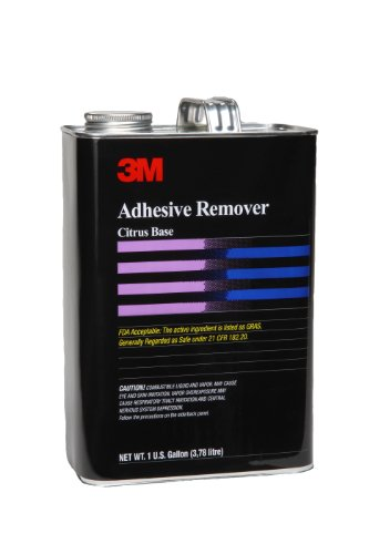 Citrus Base Adhesive Remover - 3M Adhesive Remover Pale Yellow, 1 gal (Pack of 1)