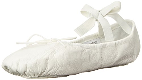 Bloch Dance Women's Prolite II Leather Ballet Slipper, White, 6.5 B US