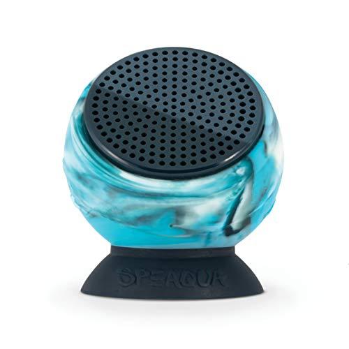 Speaqua Barnacle Plus Waterproof Bluetooth Speaker with 4 GB Memory - Tidal Blue (Balaram Stack)