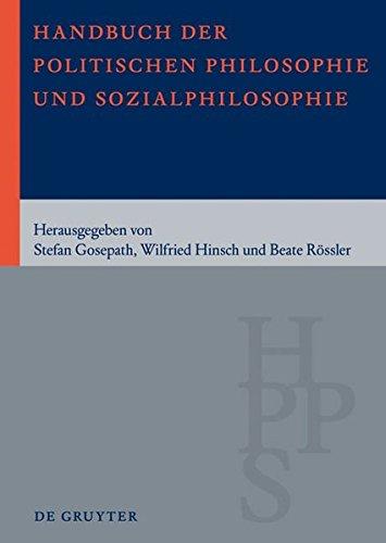 Handbuch Der Politishen Philosophie Und Sozialphilosophie (German Edition) pdf epub