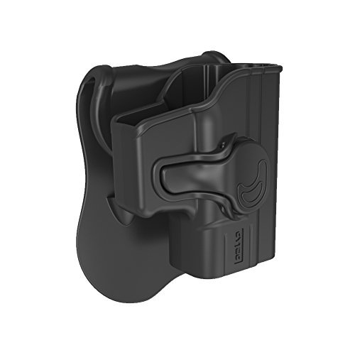 Sumtop Springfield Paddle Holster Fit XD9 & XD40 Compact, Gear OWB Belt Holsters Injection Molded for XD-9 XD-40 Compact