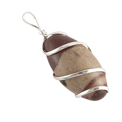 Aatm Reiki Energized Wire Wrapped Shiva Lingam (Powerful Stone To Stimulate Health & Well (Shiva Wire)