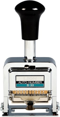 Printing Auto Numbering - 6