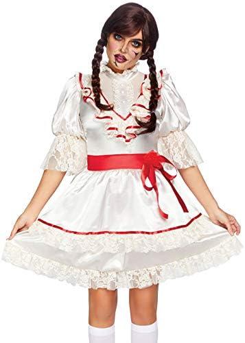Magic Box Disfraz de muñeca Espeluznante Estilo Annabelle para ...