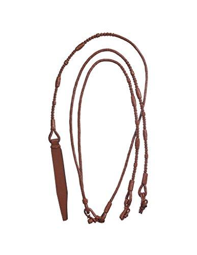 Tough 1 Reins Royal King Handmade Rommel Leather Medium Oil 40-9900