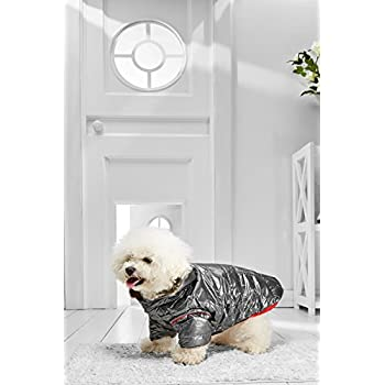 Amazon.com : Small Dog Hooded Winter Coats for Bichon