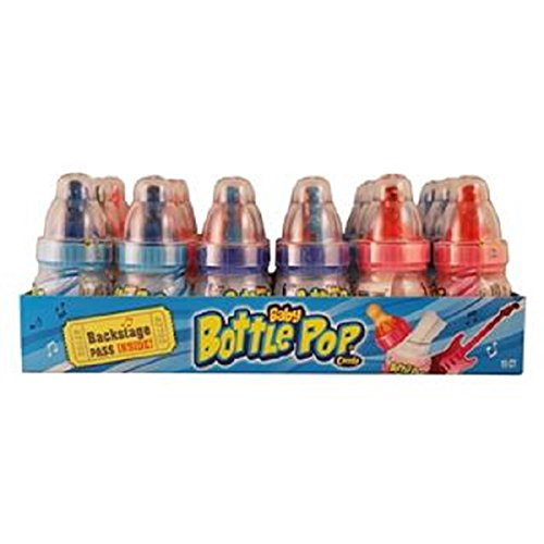 Product Of Topps, Baby Bottle Pop Candy, Count 18 (1.1 oz) - Sugar Candy / Grab Varieties & Flavors