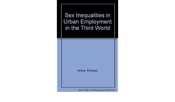 Employment in in inequality sex third urban world