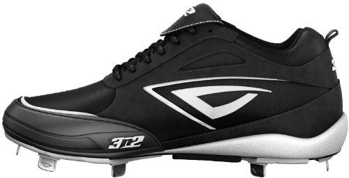 UPC 845099034938, 3N2 Womens Rally Metal PT Fastpitch Baseball Shoes,Black/White,6.5 M US