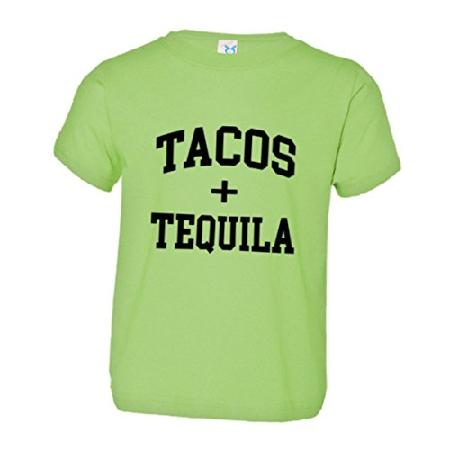PleaseMeTees Toddler Tacos Tequila Mexican Drink Cerveza Beer HQ Tee-Lime-3