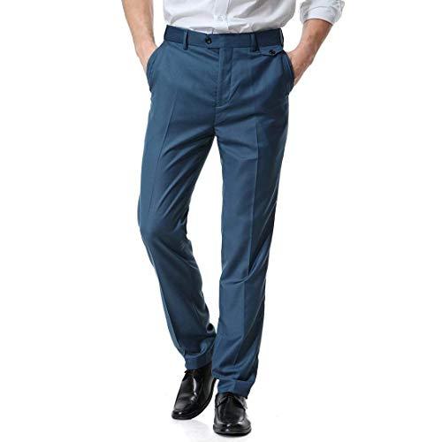 Couleurs Unies Base Court Targogo Pour Homme Poches 1 Poche Avec Latérale Pantalon Blau De Smoking P7HPqWvg