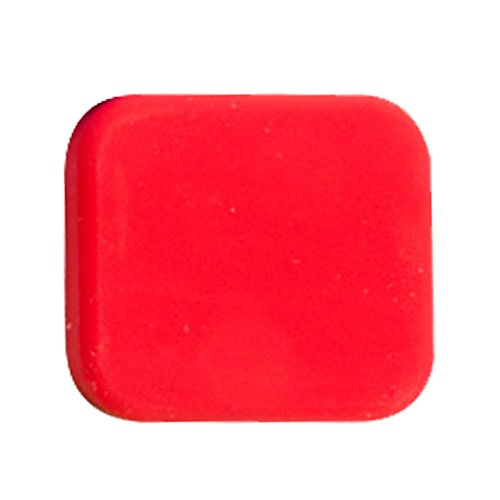 TOOGOO(R) Silica gel Lens Cap cover Action Camera Accessories for GoPro Hero 5, Red