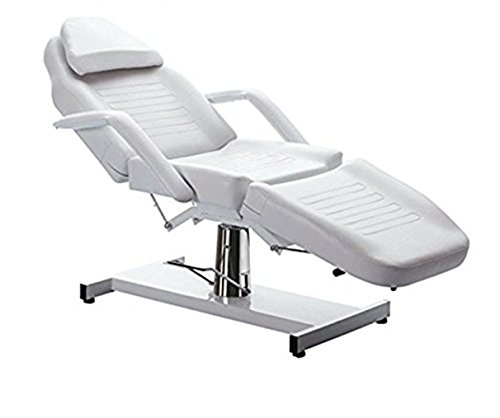 Funnylife Salon Table Bed Chair Facial Massage Black White Equipment (white)