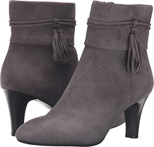 Bandolino Women's Willaria Boot, Grey Suede, 10 M ()