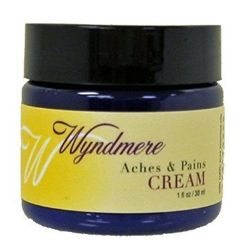 Wyndmere Aches and Pains 4 Ounce Cream with 100% Pure Essential Oils.