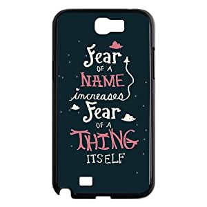 Samsung Galaxy N2 7100 Cell Phone Case Black Harry Potter quotes 001 JSY4203720KSL
